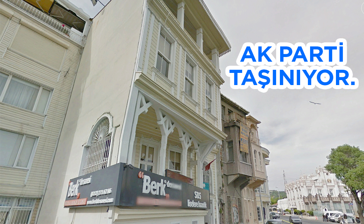 AK Parti Sarıyer Yeni Binasına Taşınıyor.