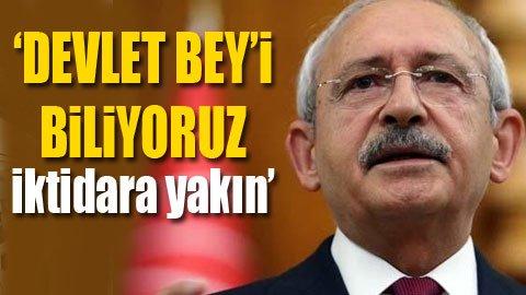 CHP lideri: Artık darbe riski yok