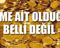 Devlete ait kurumda gizemli 99 çuval altın