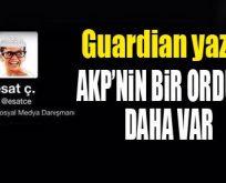 Ünlü gazete 'AKP'nin ordusu'nu yazdı