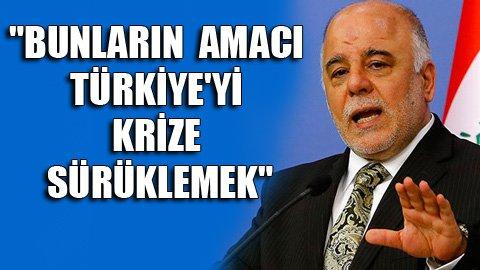 İbadi Türkiye'yi tehdit etti!
