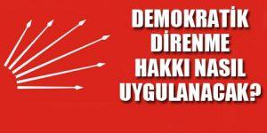 CHP, eylem planını açıklıyor