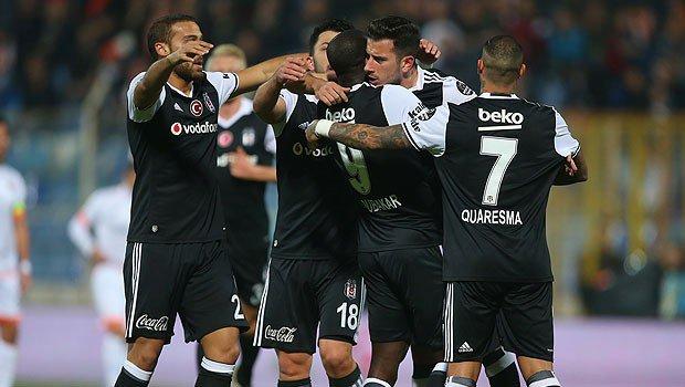 Beşiktaş Adana'da zirveye kanatlandı