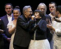 Zülfü Livaneli sanat hayatının 50'inci yılını konserle kutladı