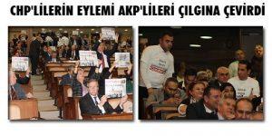 İBB Meclisi'nde Cumhuriyet eylemi