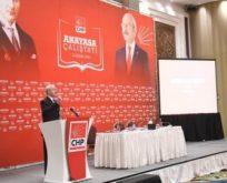 CHP'nin ön anayasa taslağı hazır