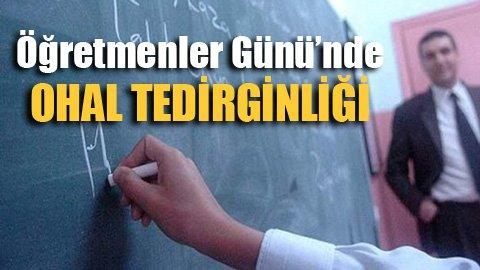 Öğretmenler korkuyor!