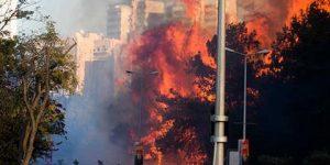 İsrail yanıyor: On binlerce kişi kaçıyor