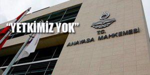AYM 'OHAL' reddinin gerekçesini açıkladı