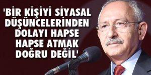 CHP lideri: Siyasiler geçmişten ders almalı