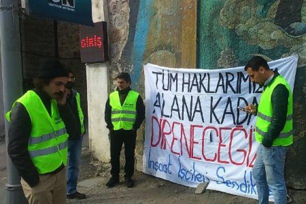 Alarko işçilerinin direnişi 10. gününde…