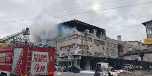 İstanbul'da sanayi sitesinde patlama