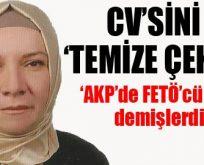 'AKP'li vekil CV'sinden FETÖ'yü sildi'
