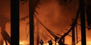 İstanbul'da fabrika yangını