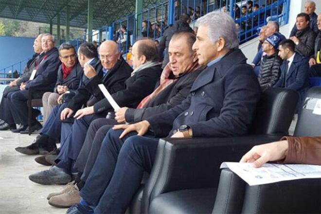 Fatih Terim, Sarıyer maçını izledi