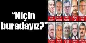 Tutuklu gazeteciler: İddianameyi istiyoruz
