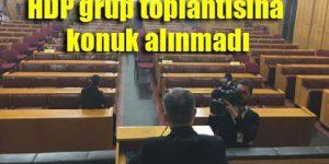 HDP: Bu manzara Meclis'in ayıbıdır