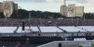 Fidel için Havana'da tarihi uğurlama