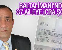 Baltalimanı'nda 37 aileye icra şoku!