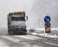 Sürücüler dikkat; Kar yağışı başladı