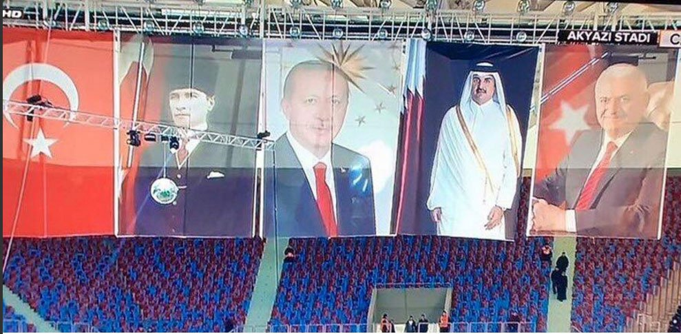 Katar Emiri de artık devlet 'büyüklerimiz'den