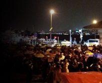 İstanbul'un göbeğinde belediye aracından hilafet çağrısı