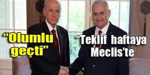 MHP ve AKP uzlaştı!