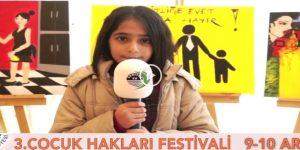Sarıyer Çocuk Hakları Festivali Başlıyor.