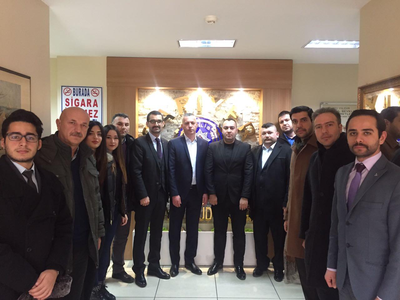 MHP  Sarıyer başkanlığından ziyaret.