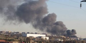 Tuzla'da tehlikeli yangın!