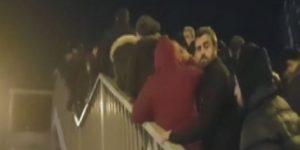 VİDEO – Metrobüste 'iş çıkışı' izdihamı