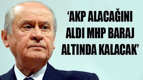 'Bu MHP'nin çöktüğünün işaretidir'