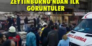 Zeytinburnu'nda çöken binadan acı haber