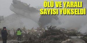 Türk kargo uçağı Bişkek'te düştü!