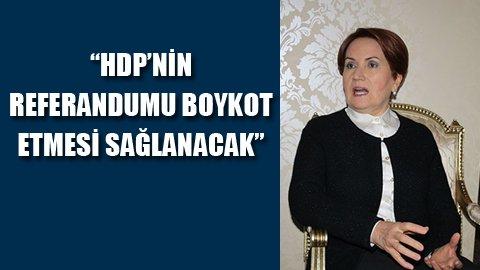 Akşener'den Öcalan iddiası