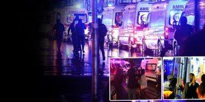 İstanbul'da eğlence merkezi Reina'ya silahlı saldırı.