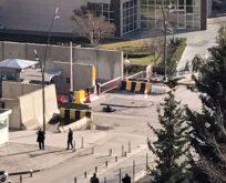 Gaziantep'te emniyet önünde çatışma