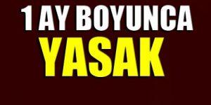 Ankara Valiliği'nden flaş karar!