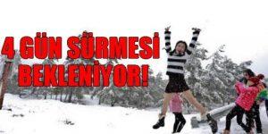 İstanbul'da kar yağışı başlıyor!