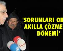 Tahliye olan Ahmet Türk'ten ilk açıklama