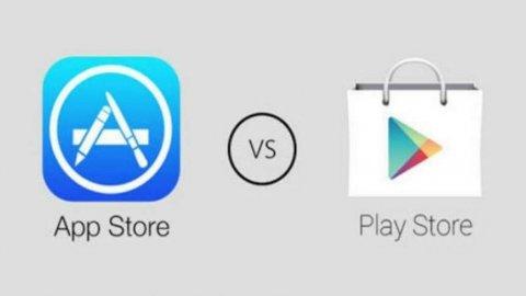 AppStore'dan Google Play'e büyük fark!
