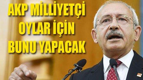 CHP lideri AKP'nin Mart planını açıkladı