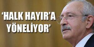 CHP lideri: Böyle devam etmeliyiz