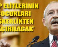 CHP liderinden partiye: Dikkate almayın