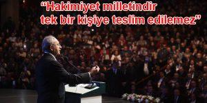 Kılıçdaroğlu Sarıyer'i Salladı!