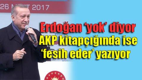 İşte Erdoğan'ın 'yok' dediği fesih yetkisi!