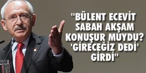 Kılıçdaroğlu'ndan Yıldırım'a istifa çağrısı