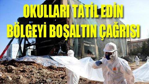 Ankara'da kimyasal alarm