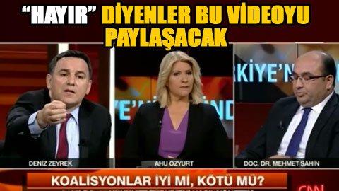 CNN Türk'te 'Tek Adam' itirafı
