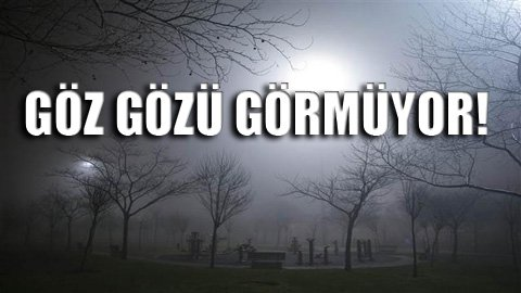 İstanbul sise teslim: Tüm seferler iptal!